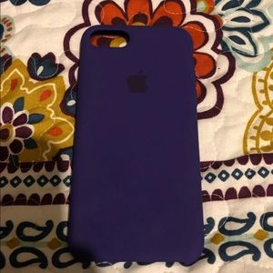 Violet Silicone iPhone 8/7 Case